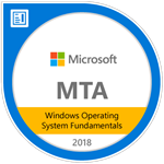 MTA Windows Operating System Fundamentals 2018