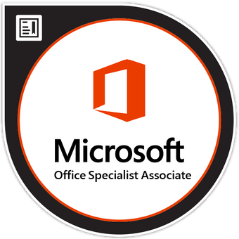 Microsoft Office Specialist Associate Badge