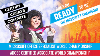 Certiport ACA and MOS World Competition