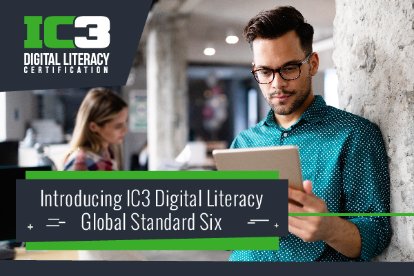 IC3 Digital Literacy Update Header