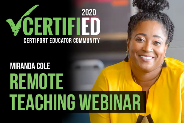 Remote Teaching with Miranda Cole