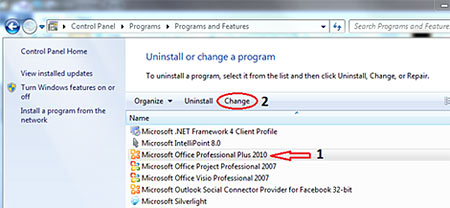 configuring microsoft office professional plus 2010