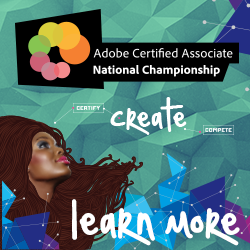 Click here for the Certiport Adobe Certified Associate US National Championship site